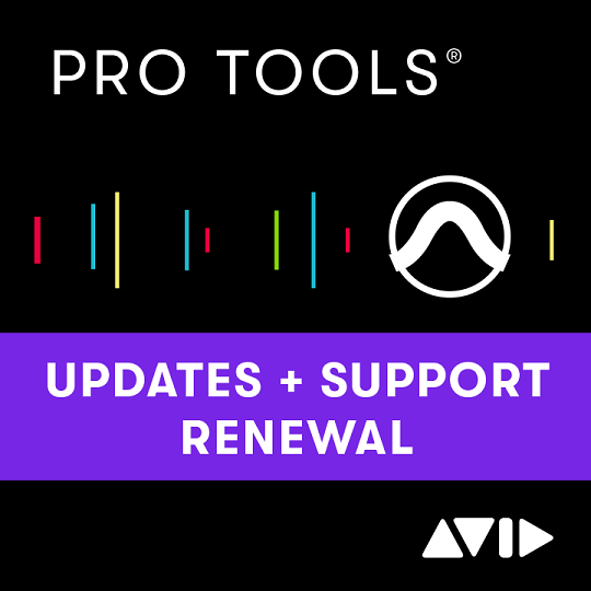 AVID Pro Tools Perpetual License Annual Software Updates and Support Plan Renewal (DOWNLOAD)