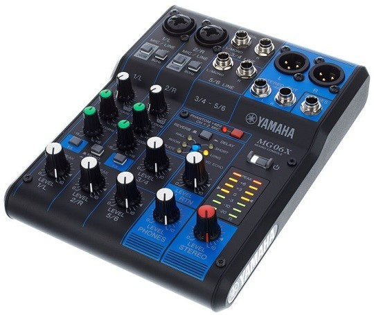 Yamaha MG06X Mixer with Effects