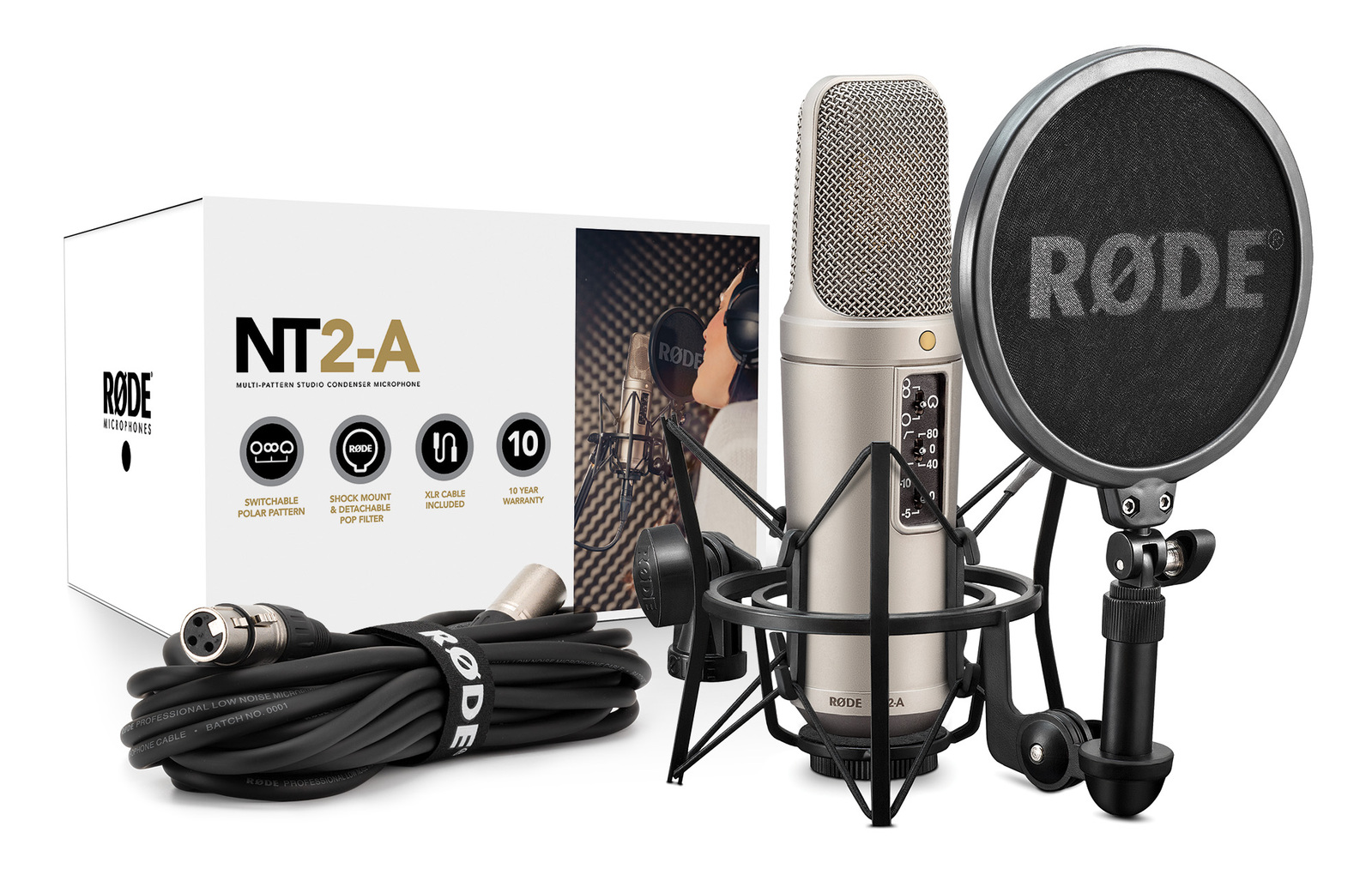 Rode NT2-A - Condenser Studio Microphone