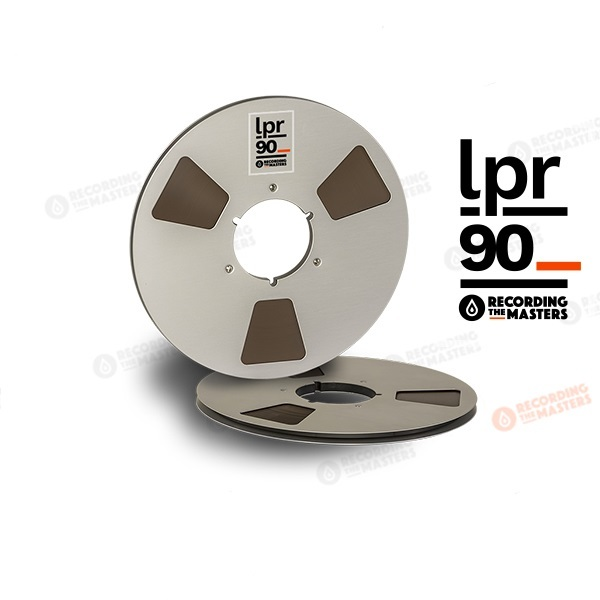 RTM LPR90 - R38520 - 1/4in, 10 1/2in metal reel, NAB hub, hinged box, 3600ft