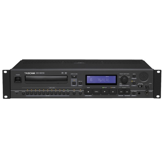 Tascam CD-6010 Professional Broadcast - Touring CD Player