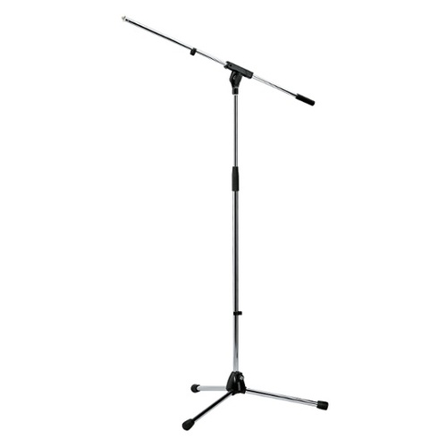 K&M 210/6 Microphone Stand (Silver)