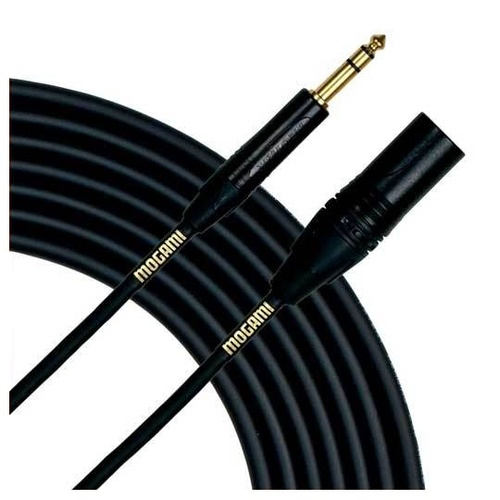 Mogami Gold TRS-XLRM 15 - Balanced Patch Cable, 15ft