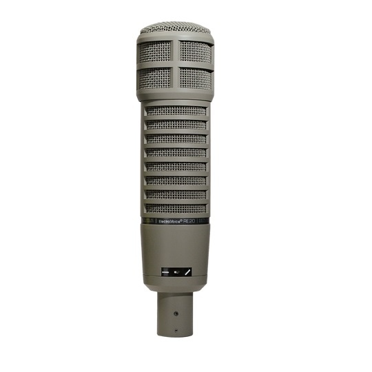 EV RE20 Broadcast Announcer Dynamic Microphone