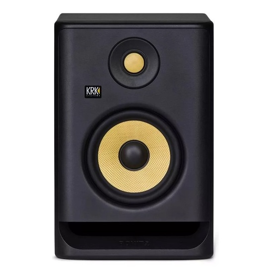 "KRK ROKIT RP5G4 5"" Powered Near Field Studio Monitor (Black Single)"