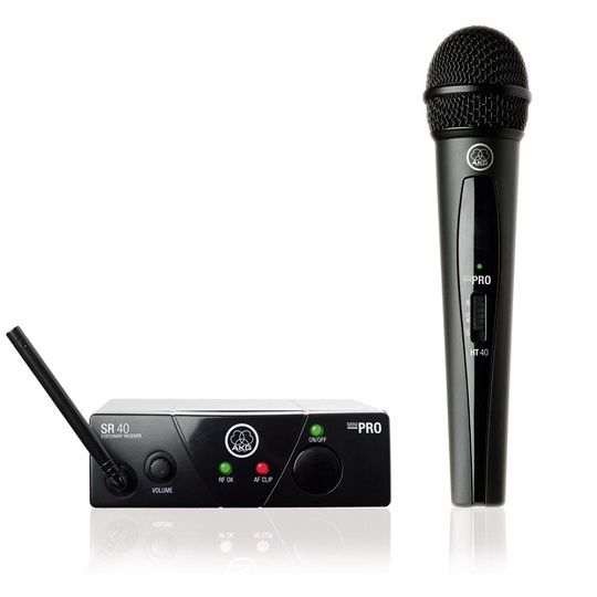 AKG WMS40 Mini Single Vocal Set (A Band)