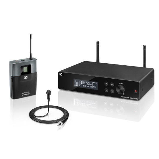 Sennheiser XSW2 Wireless Lavalier System (Freq Band B)