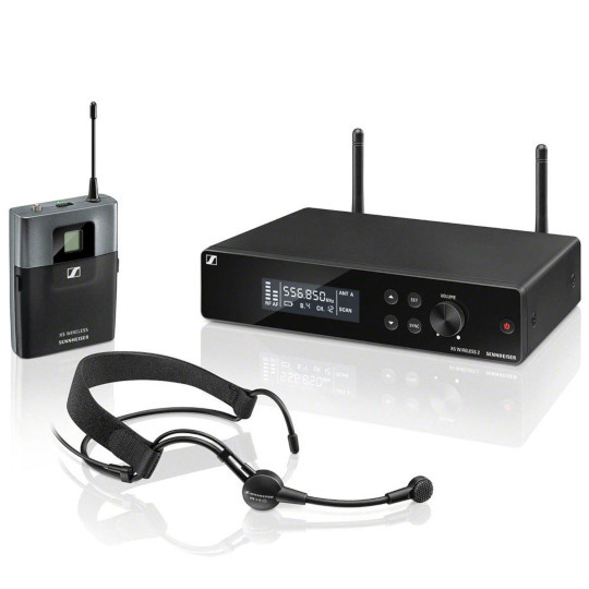 Sennheiser XSW 2 ME3 Wireless Headmic Set (Frequency Band A)